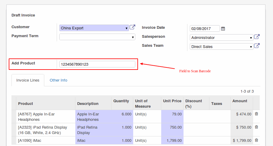 how to cancel vendor bill odoo